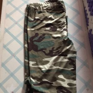 Pants - Junior camouflage leggings